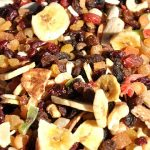 Zuurkoolschotel met winterfruit